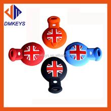 Leather silicone key cases key sets Cover Car Accessories For BMW Mini Cooper Clubman countryman R56 R57 R58 R60 R61