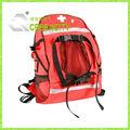 Médicos mochila vermelha- kit de primeiros socorros mochila