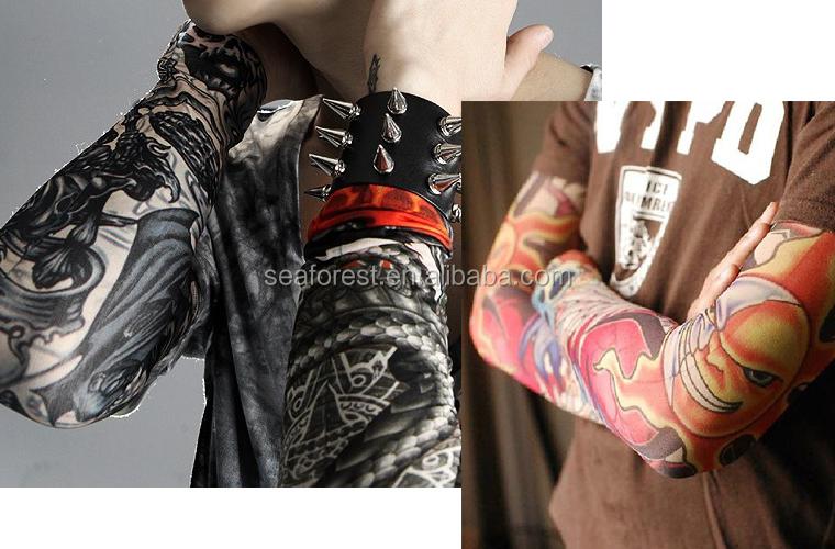 Invisible mesh tattoo sleeves fake tattoo sleeves custom for Mesh tattoo shirt