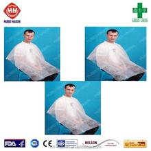 disposable hairdresser capes and aprons
