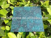 4'x8' feet/2.1x5.8m Out diamond embossed sheets, polycarbonate textured sheet. pc decorative plastic sheets