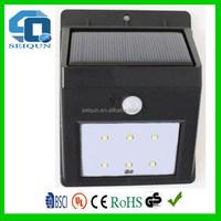 Low price professional solar motion sensor outdoor wall light