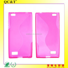 Wholesale Shockproof soft tpu S line cellphone case Cover Skin Shell for leap