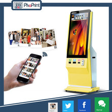 42 inch Wifi HD LCD advertising touch screen kiosk,information kiosk Airport station shopping mall floor stand