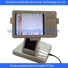 Original design,8 inch screen Android Wifi Pos Machine with quard core CPU----Gc056