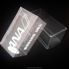 Silk Screen Printing Clear PVC Box Custom Plastic Box