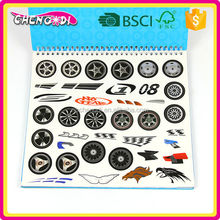 Fashionable boys car made in china drawing book