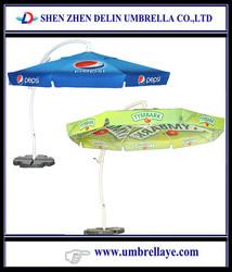 All good aluminium hanging umbrella,crank umbrella parts ribs