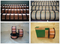 Free sample!AWS 5.18 0.6mm 0.8mm/0.9mm/1.0mm/1.2mm Co2 Gas-Shielded mild steel welding wire er70s-6,China