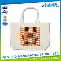 Europe standard new design most popular small canvas zipper bag