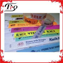 Promotional Logo Printed Cheap Custom Band Paper