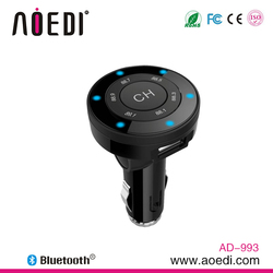 Best price bluetooth module receiver car kit fm transmitter mp3 player car audio A2DP function AD-993