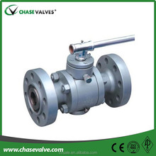 Good selling 90 degree 4 inch natural gas Trunnion Brass Ball Valve