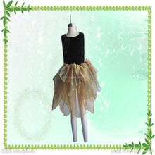 Fashion wholesale Halloween party cosplay costume petal fairy dress for girls