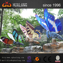 mariposa eléctrica equipo del patio de los animales