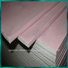 incombustible tablero / protección del medio ambiente / techo / pared de partición integrada / material plástico de yeso