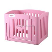 plastic pet pen Clorful foldable Pet Fence/dog fence /pet cage,