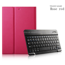 Wireless Bluetooth Keyboard Case 9.7 Ultra Slim Magnetic Bluetooth Keyboard With Leather Cover Casefor ipad case with keyboard