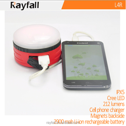 popular cell phone charger lantern with USB directly charging