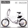 "MOTORLIFE/OEM EN15194 new style 36v 250w 20"" folding green power electric bike mid motor drive"