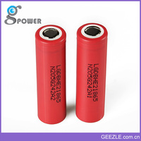 Newest Fast Shipping Geezle 18650 1.8v li ion battery
