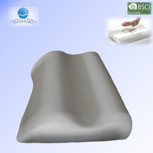 High quality cheap velvet material soft and coo gel memory foam pillow,