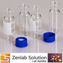 heat resistant sample vials for disposable sample vials / silicone polymer sample vials