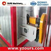 Electrostatic powder coating drying oven/furnace with Italian Riello burner