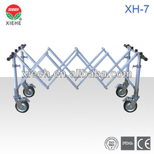 XH-7 Aluminum Tube Coffin Trolley