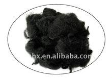 4D*51mm polyester staple fiber color black