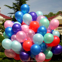 custom round latex metallic balloons for advertising