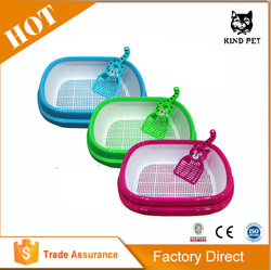 Large Plastic Litter Pan/Box For Cats