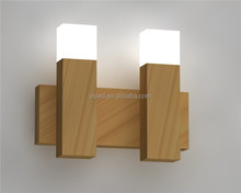2pcs straight oak bar led decoration lights