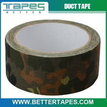 100% Cotton outdoor forest camo clothing tape wild camo tape camouflage tape