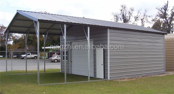 Nouveau design abri voiture avec un petit d barras garage for Petit garage prefabrique