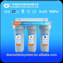 3 etapa purificadores de agua domésticos sin ro electricidad