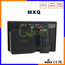 Android 4.4 XBMC 14.0 Smart tv box MXQ Quad Core Tv Box Android 4.4 MXQ 8G Rom Google Tv Box EU UK US Plug All Stock MXQ interne