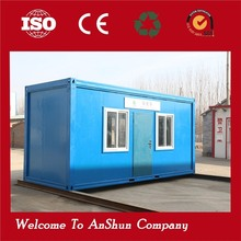 low cost cheap prefab shipping container store hydraulic