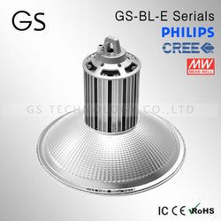 solar light rohs approved 150w 120w led high bay lighting meanwell led driver