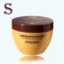 Nature collagen hair treatment argan oil hair mask with keratin