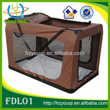 large fabric soft carrier dog crate for sales top sales