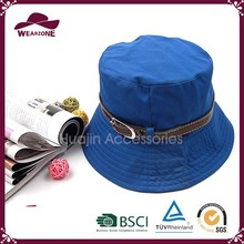 Fashion knitted polo cotton bucket hat made in China