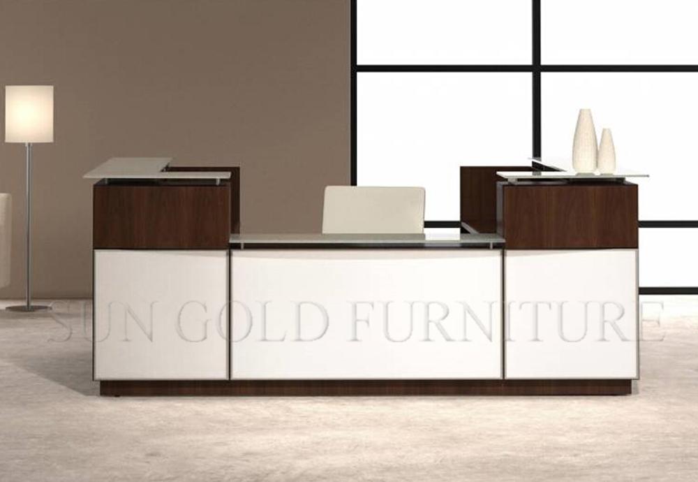 Mobilier de bureau minimaliste blanc moderne r ception for Muebles de oficina rd