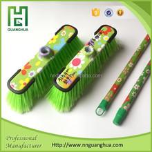 low price plastic printed broom made in China, low price plastic broom