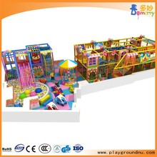 Candy theme new soft Indoor playground equipment children play toy entertainment