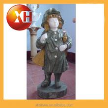 Sculpté à la main personnalisé boy marbre bustes pour jardin décoration
