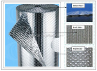 Fire resistance aluminum insulation foil faced aluminum foil air bubble insulation