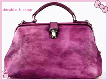 top Italian classic genuine leather hand bags for women