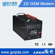 GSM 8/16 channel rs232/usb sim card bulk sms modem with antennas for hospital, health institution care reservation