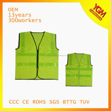 2015 best sell fluo yellow high visibility safety vest